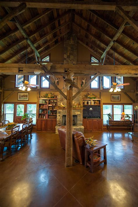 Open Floor Plan Country Homes by Texas Country Barn Home Heritage Restorations
