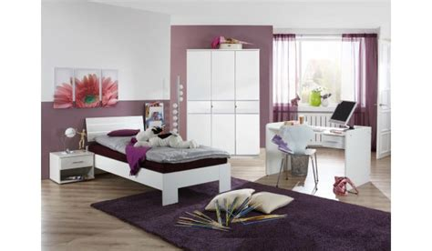 Lit Pour Chambre 1314 by Chambre Fille Compl 232 Te Blanche Novomeuble