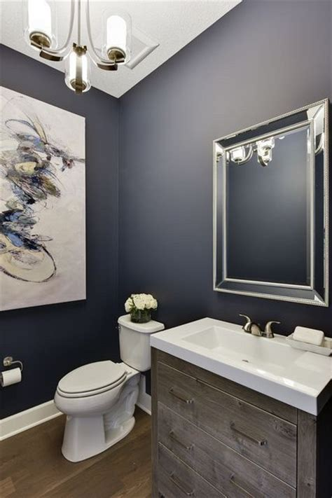 navy blue bathroom ideas best 25 powder room paint ideas on great room