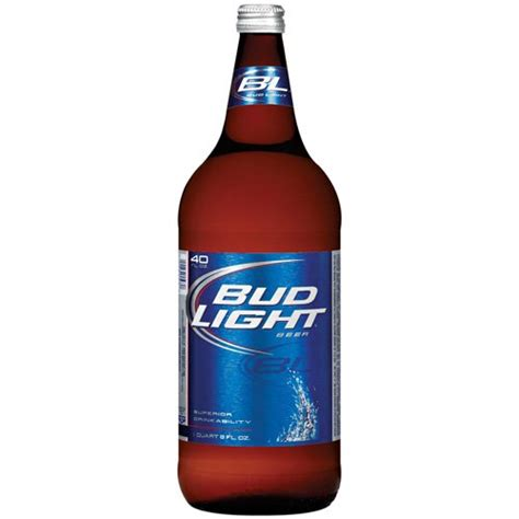 What Is The Content Of Bud Light by Bud Light 40 Journal