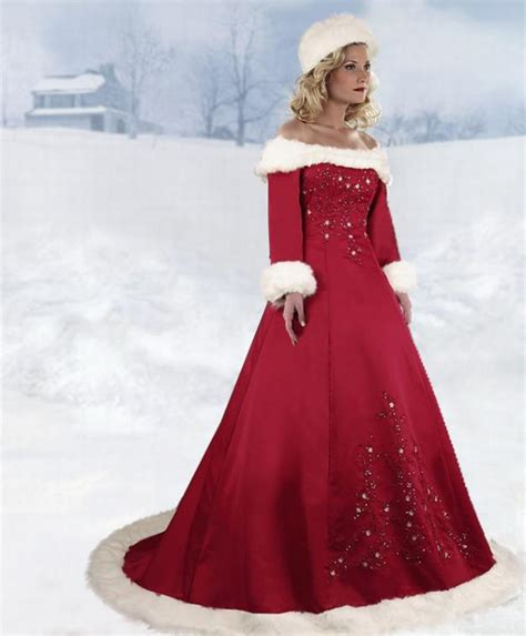 christmas wedding dresses beautiful christmas wedding