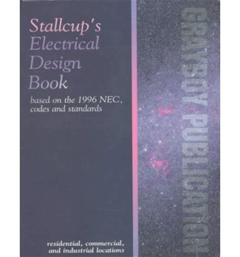electrical layout book stallcup s electrical design book james g stallcup