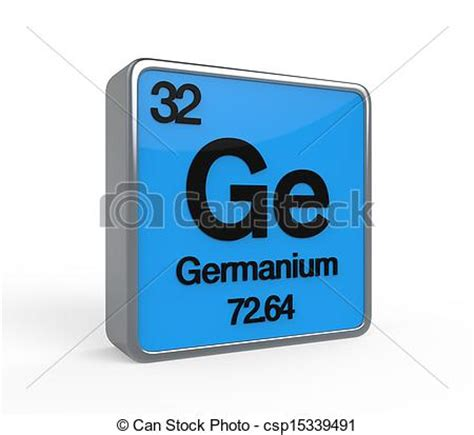 Germanium Periodic Table by Stock Illustration Of Germanium Element Periodic Table