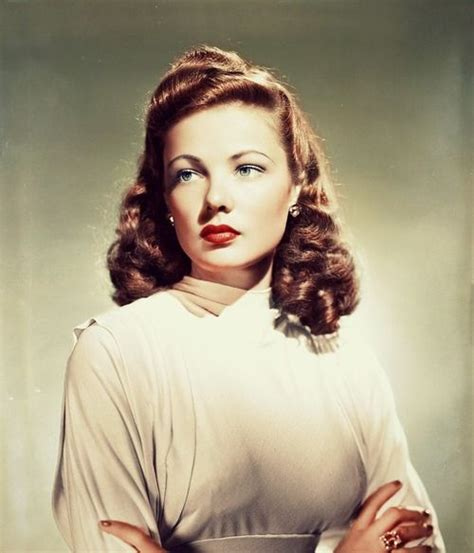 movie star hairstyles pictures 40 best gene tierney images on pinterest gene tierney