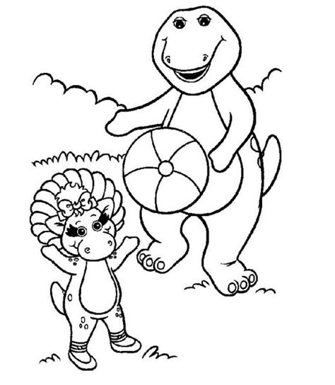 barney coloring pages pdf 14 printable barney coloring pages print color craft