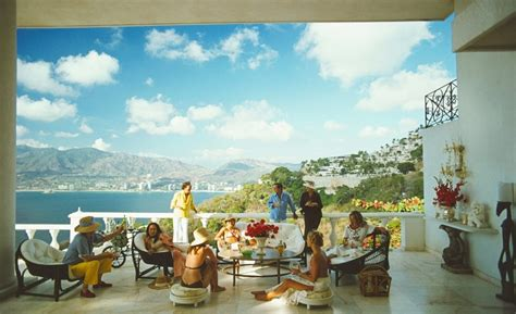 slim aarons  life  photographs whale lifestyle
