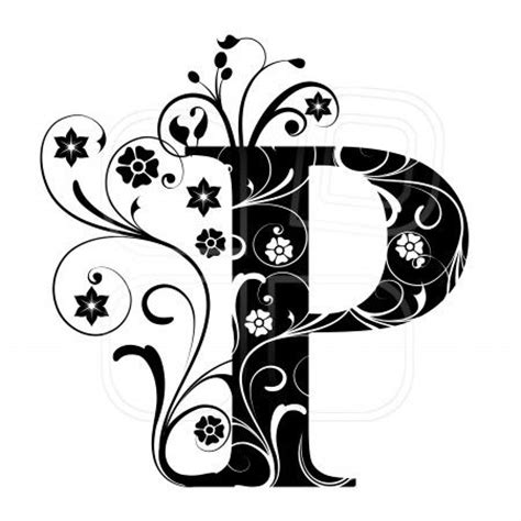 tattoo designs alphabet p p calligraphy google search tattoos pinterest quilling