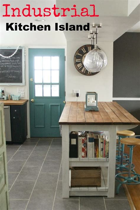 industrial kitchen island diy industrial kitchen island