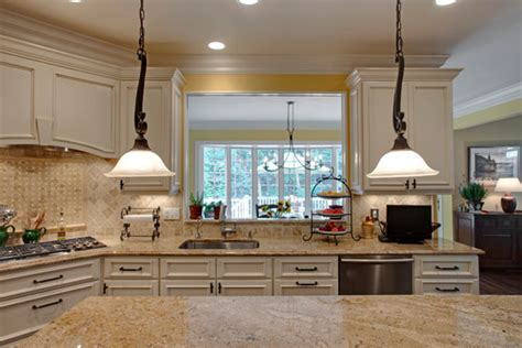 kitchen drop lights love the drop down light fixtures and granite and backsplash