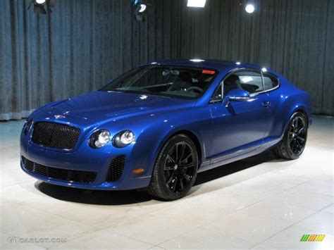 bentley blue color 2010 moroccan blue bentley continental gt supersports