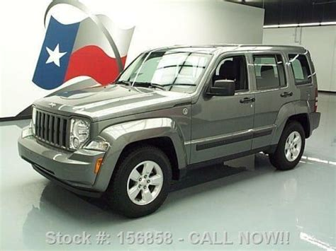 buy car manuals 2012 jeep liberty engine control buy used 2012 jeep liberty sport 3 7l v6 auto alloys 1 owner 40k texas direct auto in stafford