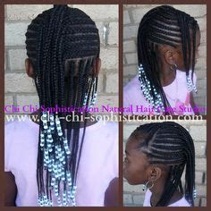 hairstyles for beaded extensions 1000 images about kids braided hairstyle on pinterest