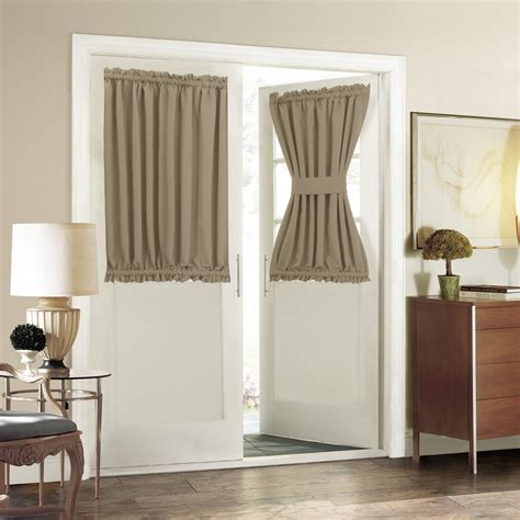 Curtains For Doors by Aquazolax Plain Blackout Curtains Thermal Insulated For