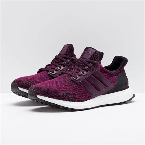 adidas womens ultraboost red night mystery ruby core black womens shoes