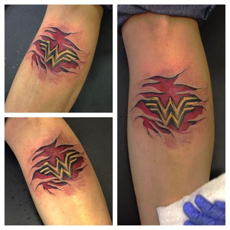 90 best images about wonder woman tattoos on pinterest