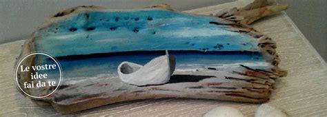 tavole di mare con legno di recupero quadretti fai da te per ricordare