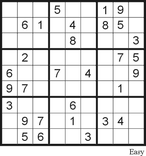 printable sudoku and word search puzzles sudoku free puzzles junglekey com image