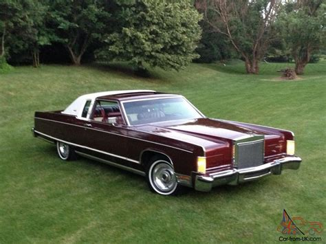 town for sale lincoln continental town coupe