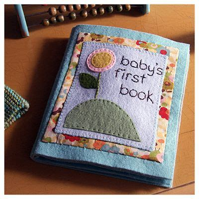 Handmade Baby Books - this is a book easy to make great way to use