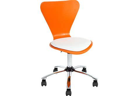 starburst orange desk chair desk chairs