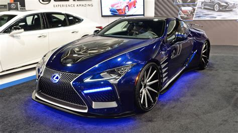 lexus car black lexus black panther inspired lc concept sema 2017 photo