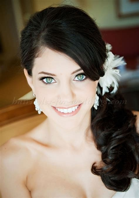 Wedding Hairstyles Side Ponytail by Ponytail Hairstyles Side Ponytail Wedding Hairstyle