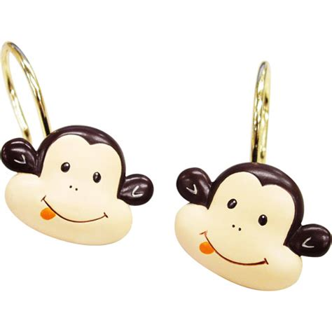 shower curtain hooks walmart mainstays monkey shower curtain hooks walmart com