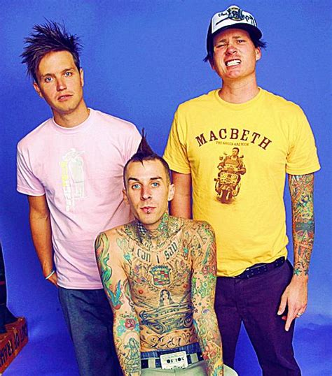 Kaos Band Blink 182 3 quot were not were all just dorks in a band quot hoppus blink 182