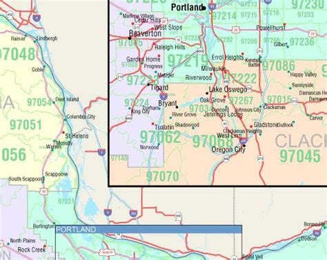map of portland oregon zip codes image gallery oregon zip code