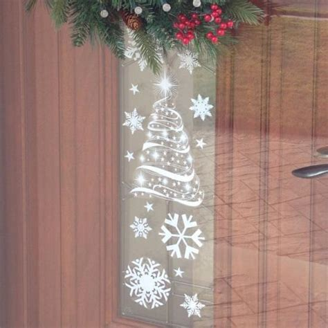 christmas tree window clings tree window clings for window