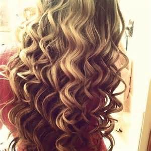 easy curling wand for permed hair locken mit dem lockenstab haare