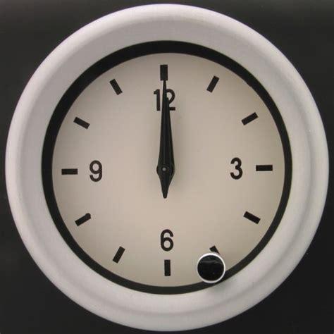 mm analogue clock wd
