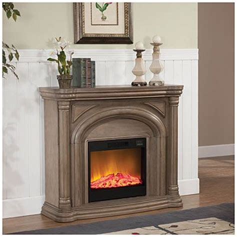 48 quot white wash fireplace at big lots bedroom ideas