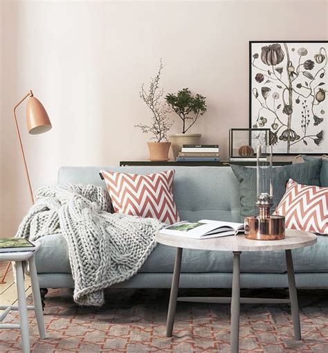 Dusty Pink Living Room by Colour Trend Dusty Pink Stylish Livable Spaces