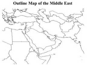middle east map blank printable middle east map blank my