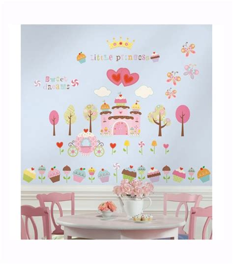 room mates wall stickers k 248 b roommates wallstickers cupcake land