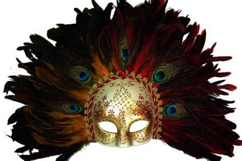 Masker Tempel Garnier classic vintage ancient temple shaman ruin mask w feathers design laser cut masquerade mask for