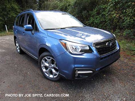 subaru forester 2017 blue 2017 subaru forester research webpage