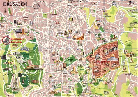 tripadvisor map tourist map of jerusalem on the web jerusalem forum