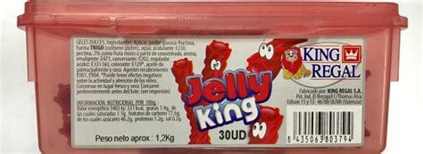 Jelly King Nata T 227 O Bom Kr Jelly King Recheio Gelatina Morango 30 Pcs