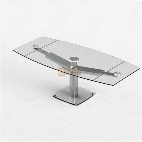 cr馘ence cuisine en verre table de cuisine moderne en verre beautiful table de