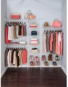 Shelftrack Wardrobe Kit Superslide 5 8 Ft White Ventilated Wire Closet Organizer