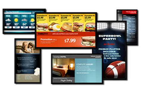 Digital Signage Templates why digital signage content is king part 2