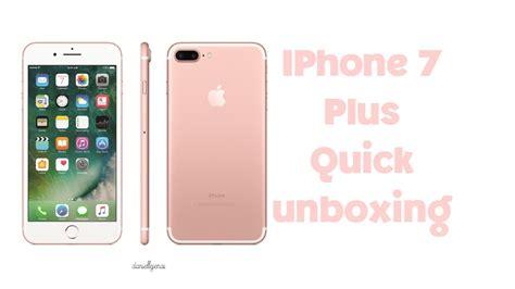 iphone 7 plus unboxing unboxing
