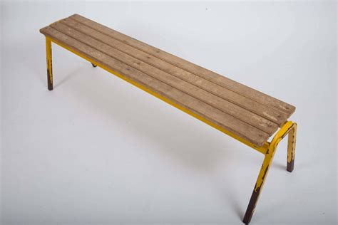 school benches for sale vintage industrial school bench for sale at 1stdibs