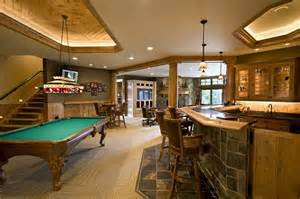 These basement rec room pictures will give you good design ideas