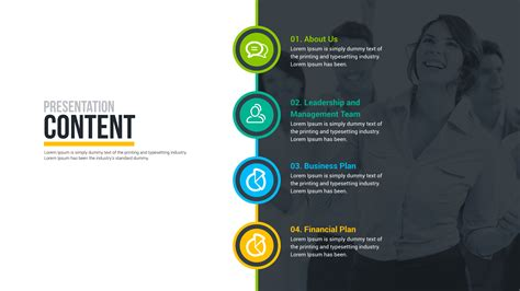 template for business plan presentation business plan powerpoint presentation free