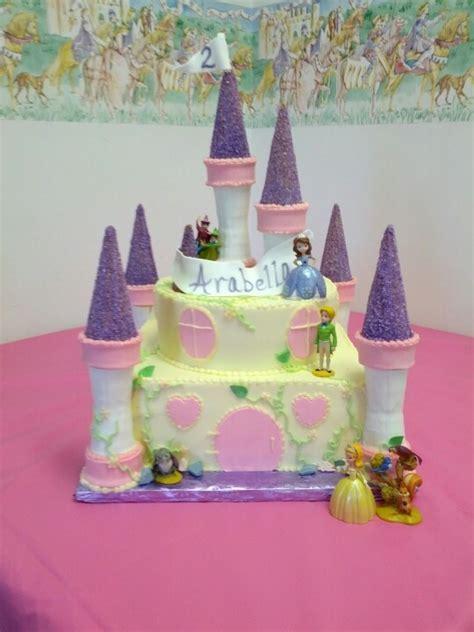 Princess Sofia Castle Cake 106 best sofia the for lola s 2nd images on princess sofia princess and