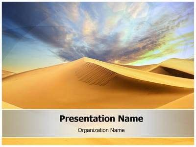 102 Best Images About Nature Powerpoint Templates On Pinterest Template Powerpoint Slide Desert Powerpoint Background
