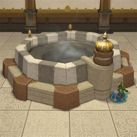 oasis bathtub oasis bathtub ffxiv housing furnishing